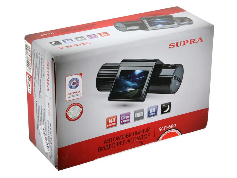 Супра 690 видеорегистратор