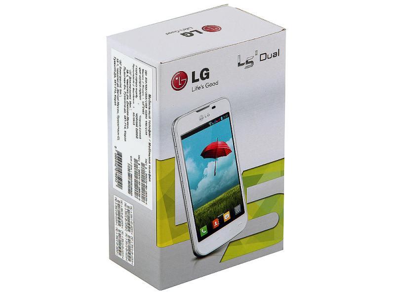 LG E455 Optimus L5 II Dual black blue - купить в Вологде Низкие цены на мобильный телефон в интернет-магазине elmall35