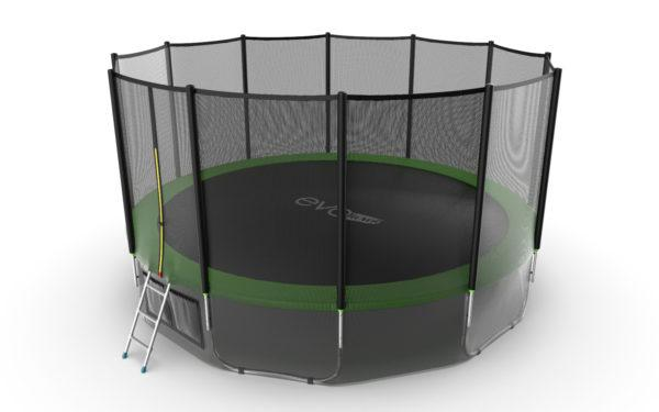 EVO jump External 16ft (Green) + Lower net