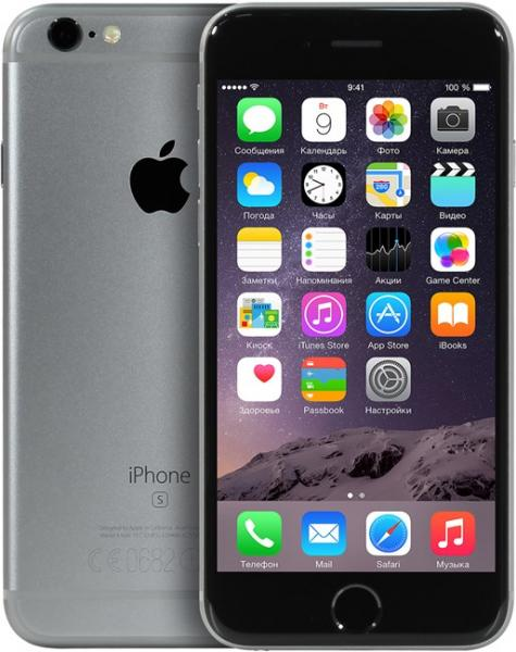 Смартфон Apple iPhone 6s (MKQT2RU) 128Gb Space Gray