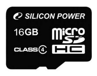 карта памяти Silicon Power micro SDHC Class4