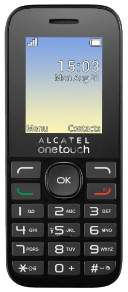 Alcatel Alcatel One Touch 1020D Volcano Black