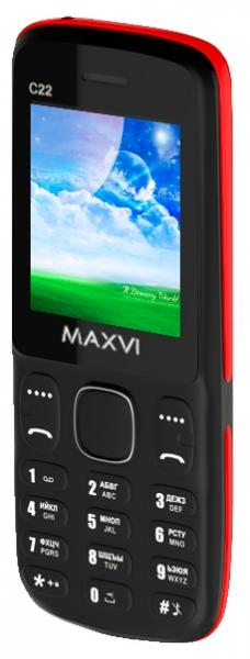 Телефон MAXVI C22 white-blue