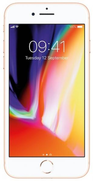 Смартфон Apple iPhone 8 256GB Gold (MQ7E2RU/A)