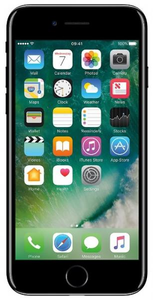 Смартфон Apple iPhone 7 128Gb Black (MN922RU/A)