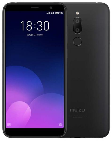 Смартфон Meizu M6T 3/32GB Black