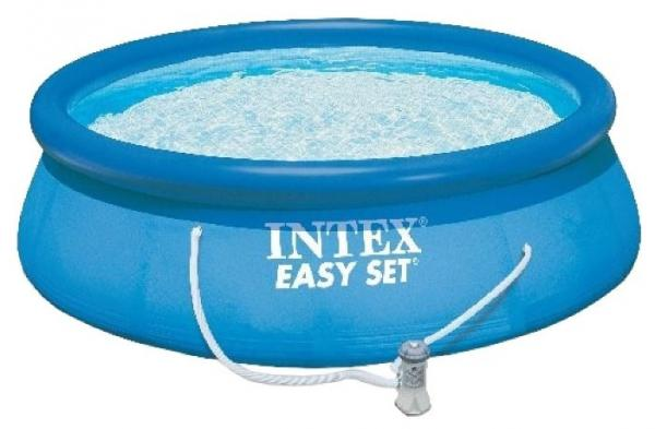 Бассейн надувной Intex Easy Set 28122/56922, насос 220V, 305х76см