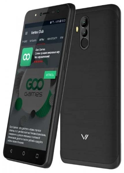 Vertex Impress New 4G Black